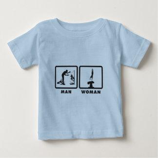 Gymnastic Vault Baby T-Shirt
