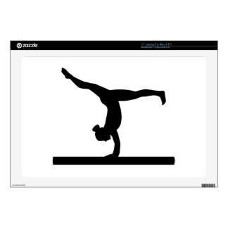 "Gymnastics 17"" Laptop Decal"