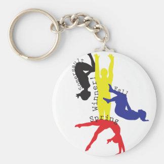 Gymnastics 365 keychain