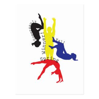 Gymnastics 365 postcard