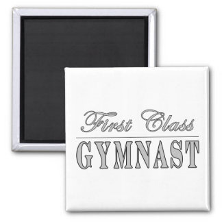 Gymnastics and Gymnasts : First Class Gymnast Refrigerator Magnets