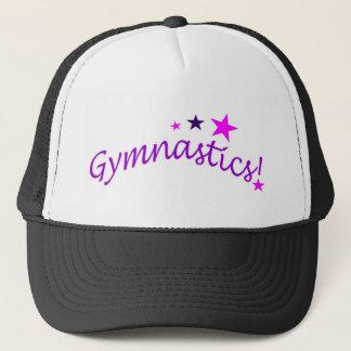 Gymnastics Arched with Stars Trucker Hat