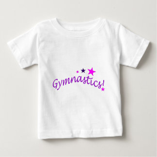 Gymnastics Arched with Stars Tshirts