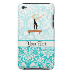 Gymnastics Balance Beam Barely There Ipod Case at Zazzle