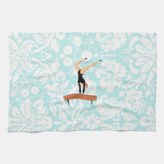 Gymnastics Balance Beam Kitchen Towel