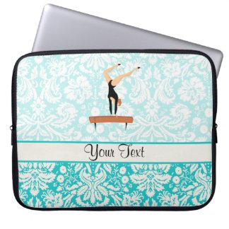 Gymnastics Balance Beam Laptop Sleeve