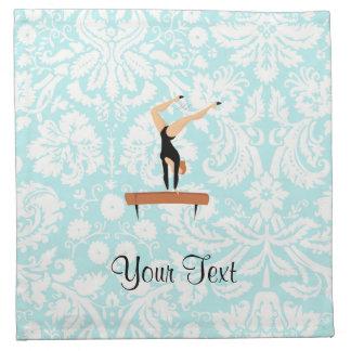 Gymnastics Balance Beam Napkin