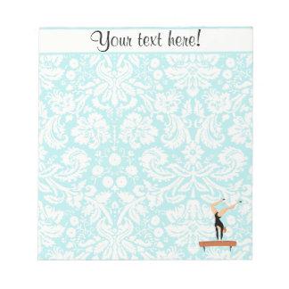 Gymnastics Balance Beam Memo Notepads