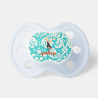 Gymnastics Balance Beam Baby Pacifiers