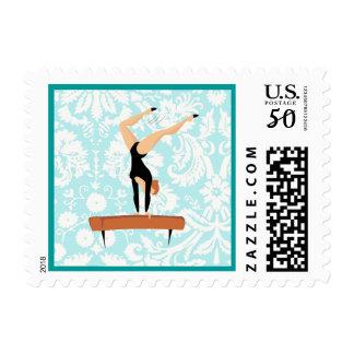 Gymnastics Balance Beam Postage