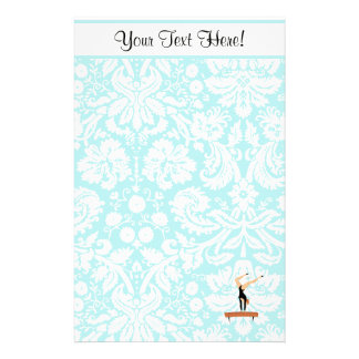 Gymnastics Balance Beam Stationery