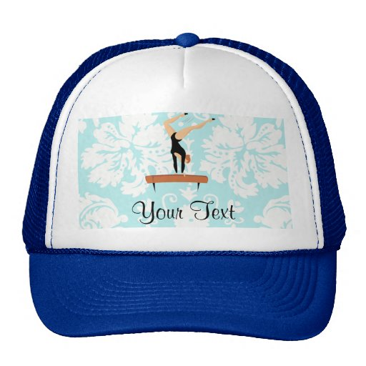 Gymnastics Balance Beam Trucker Hat