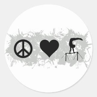 Gymnastics (Bars) Sticker