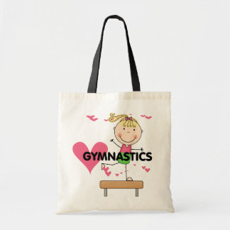 GYMNASTICS - Blond Girl Balance Beam Tshirts Tote Bag