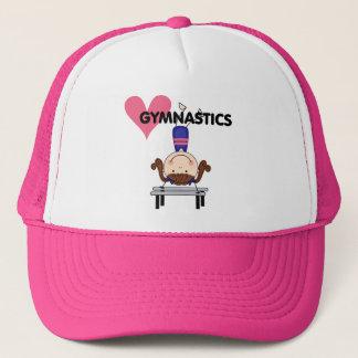 GYMNASTICS - Brunette Girl Handstands Trucker Hat