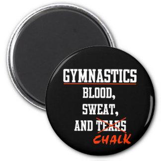 Gymnastics BS&C 2 Inch Round Magnet