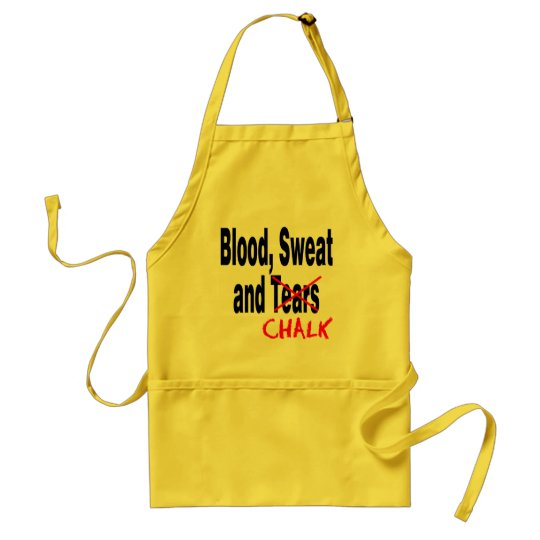 Gymnastics BS&C Front and Back Adult Apron