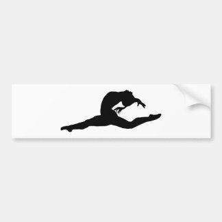 Gymnastics Bumper Sticker