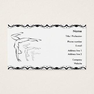 Gymnastics Business Card