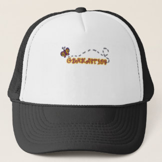 GYMNASTICS butterfly Trucker Hat