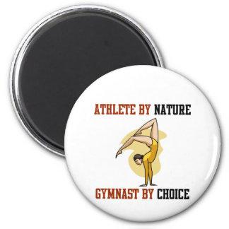 Gymnastics By Choice 2 Inch Round Magnet
