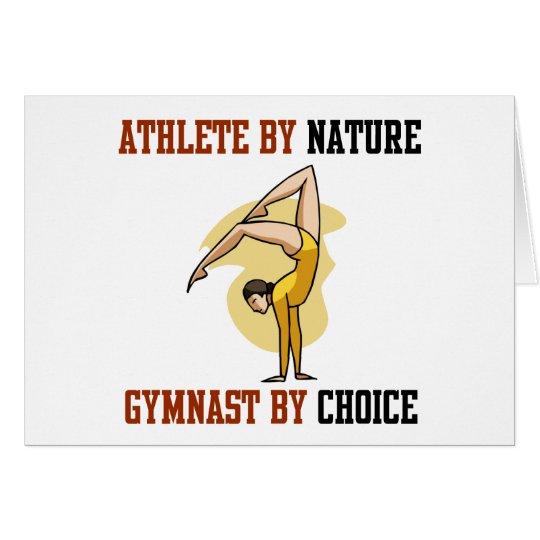 Gymnastics By Choice Card