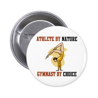 Gymnastics By Choice Pinback Button