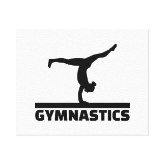 Gymnastics Canvas Print