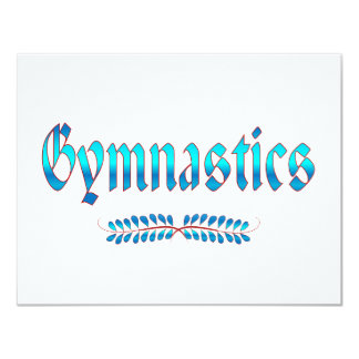 GYMNASTICS CARD