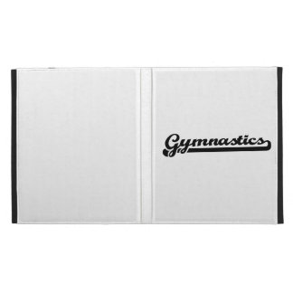 Gymnastics iPad Folio Cases