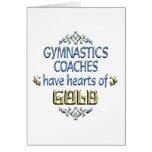 Gymnastics Coach Appreciation Cards