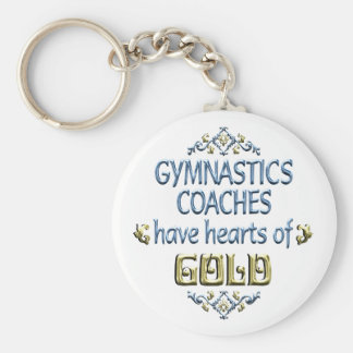 Gymnastics Coach Appreciation Keychain