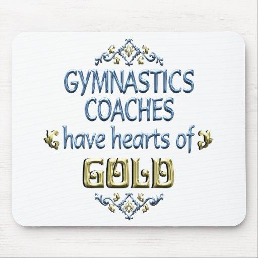 Gymnastics Coach Appreciation Mouse Pads
