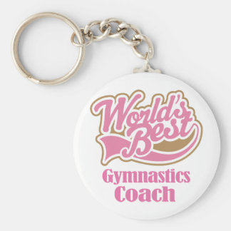 Gymnastics Coach Gift Keychain