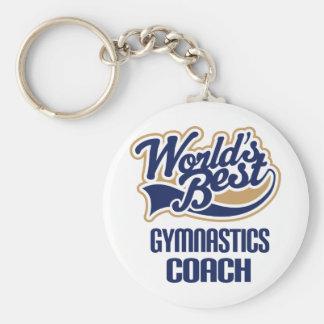 Gymnastics Coach Gift Keychains