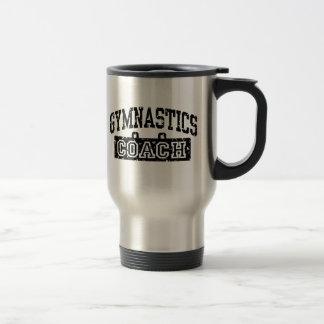 Gymnastics Coach 15 Oz Stainless Steel Travel Mug