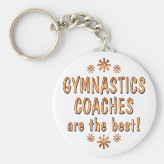 Gymnastics Coaches are the Best Keychain