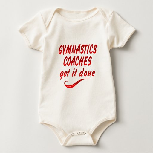 Gymnastics Coaches Get it Done Rompers