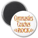 Gymnastics Coaches Rock Fridge Magnets