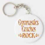Gymnastics Coaches Rock Key Chains