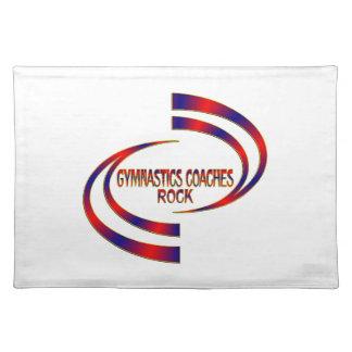 Gymnastics Coaches Rock Placemat
