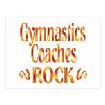 Gymnastics Coaches Rock Post Card