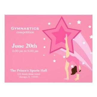 Gymnastics Competition Flyer Design