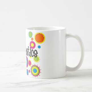 Gymnastics Cool Polka Dots Classic White Coffee Mug