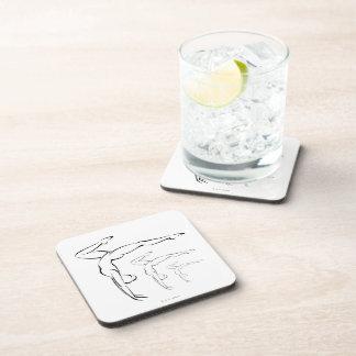 Gymnastics Beverage Coasters
