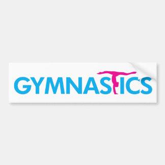 Gymnastics Customized Products Bumper Sticker
