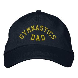 GYMNASTICS DAD Embroidered Hat