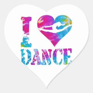Gymnastics Dance Cheer Stickers Heart Sticker