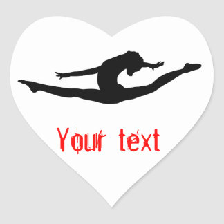 Gymnastics Dance Cheer Stickers