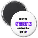 Gymnastics Days Refrigerator Magnets